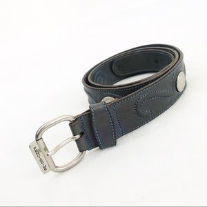 80s Vtg Fendi Fendisimme • Western Leather Belt